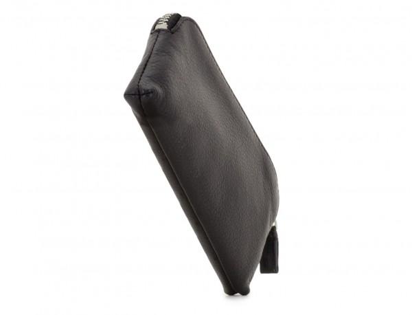 leather key holder wallet side