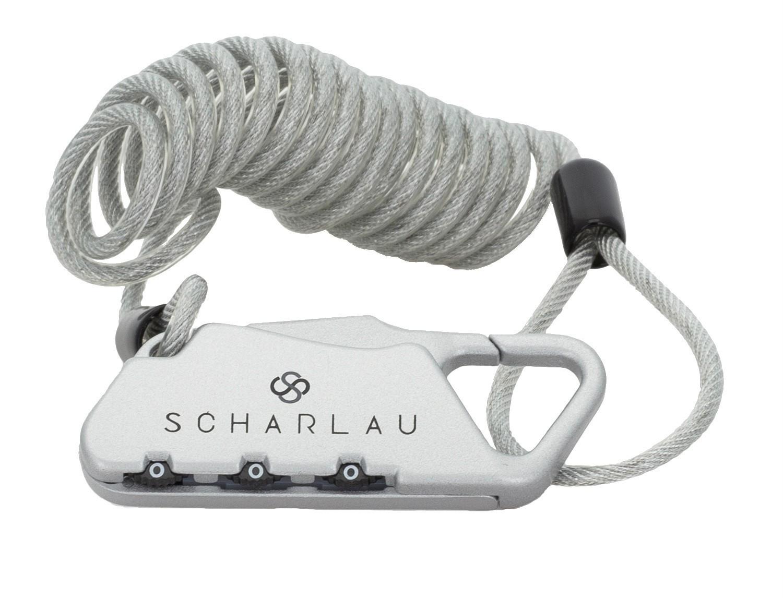 Lucchetto numerico con cavo estensibile elastico per zaini