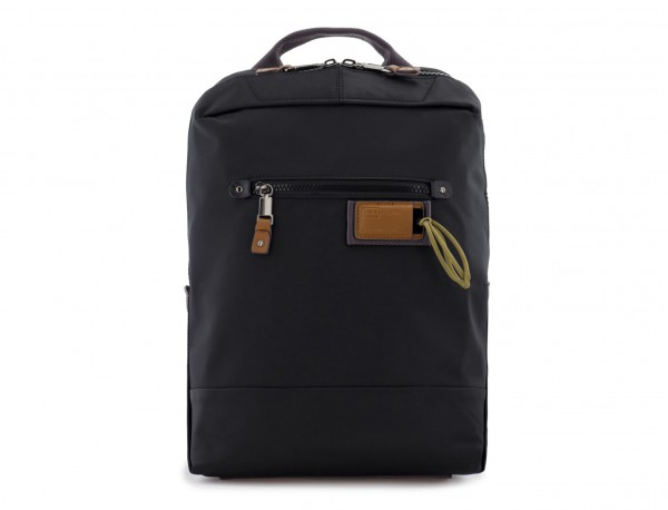small backpack in black front
