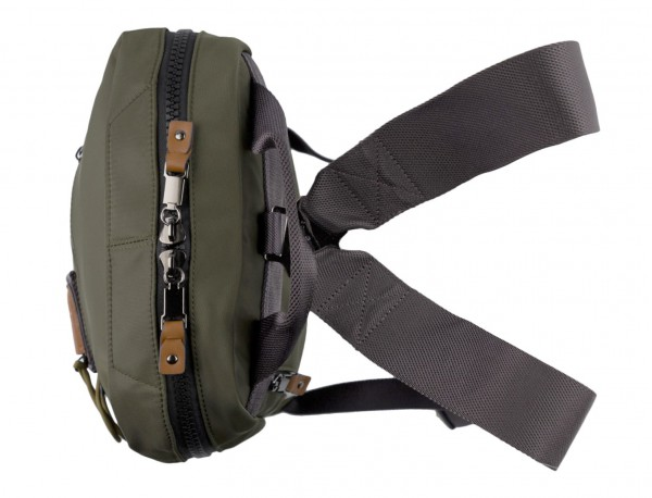 small backpack in green up