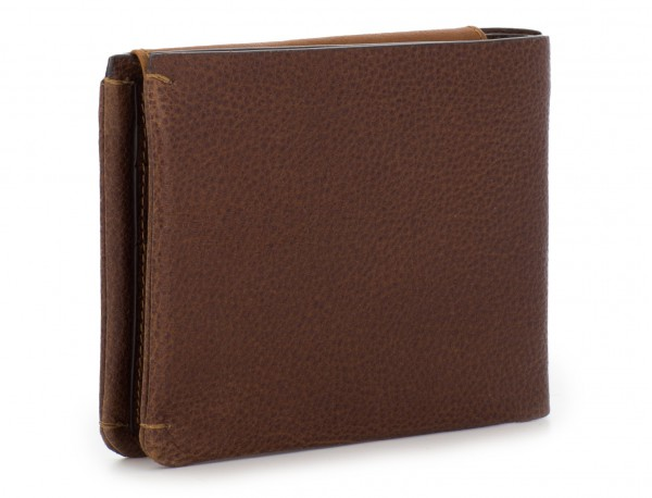 leather wallet with card holder brown back