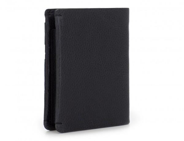 vertical wallet with card holder black side