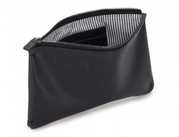 leather mask cover black inside