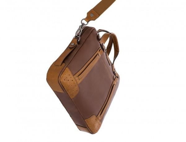 leather vintage laptop bag brown base