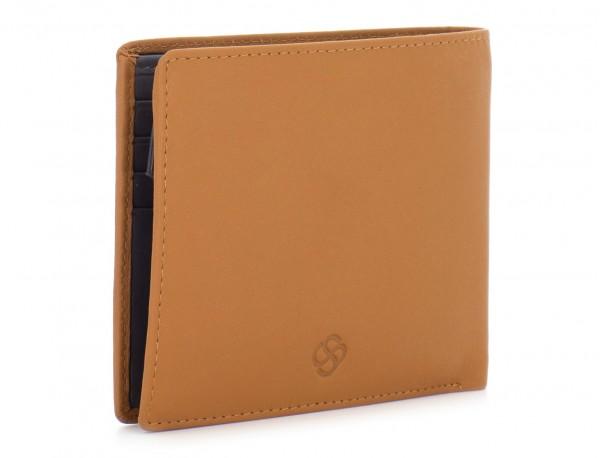 leather wallet men camel lado