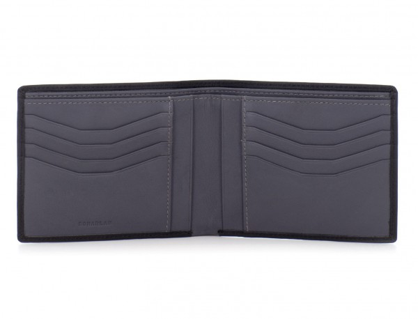 leather men wallet black