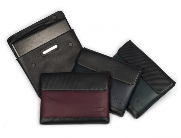 """Leather laptop sleeve 13.3"""" inch"""
