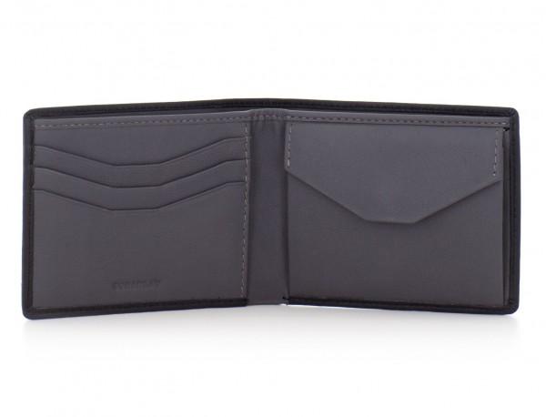 Mini portafoglio per uomo nero
