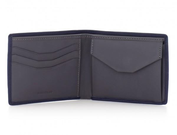 Mini portafoglio per uomo nero open