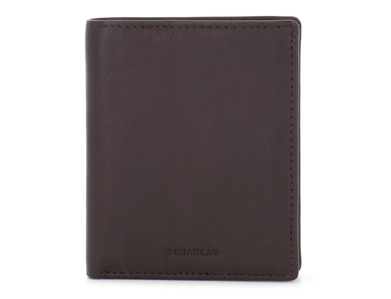 Portafoglio piccolo porta carte marrone front