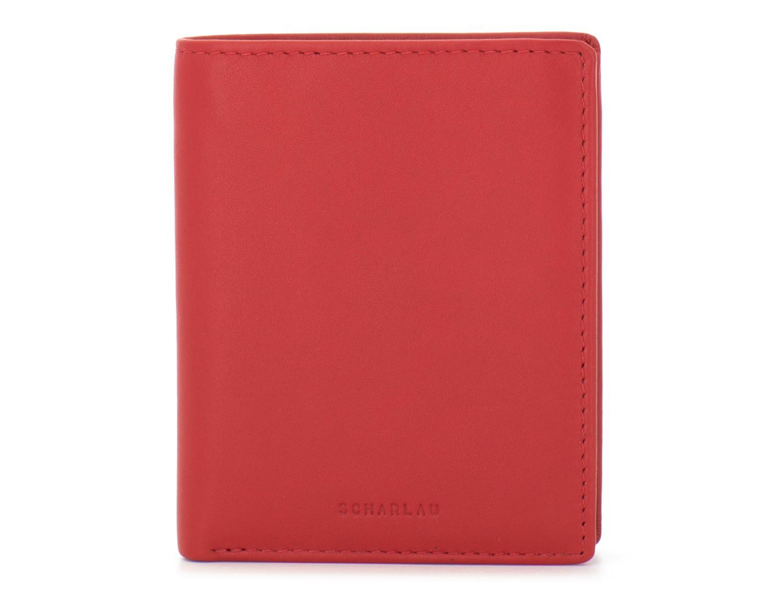 Portafoglio piccolo porta carte rosso front
