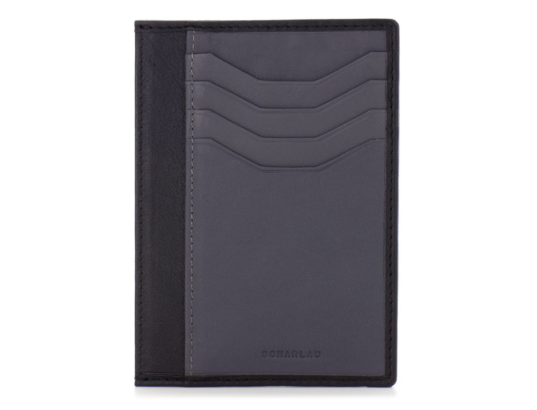 leather credit card wallet back front