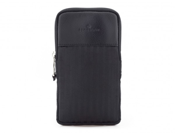 Multipurpose pouch in black front