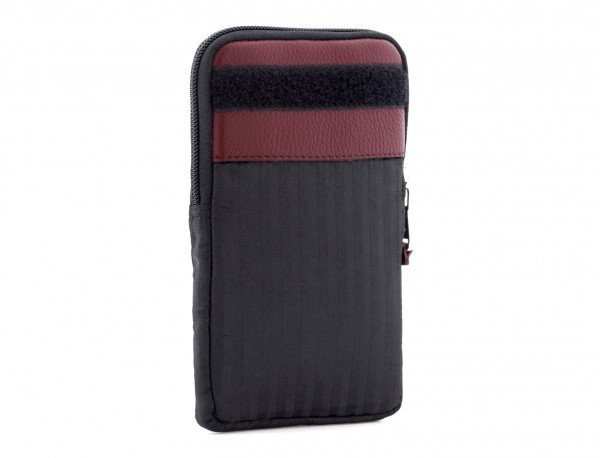 Multipurpose pouch in burgundy back