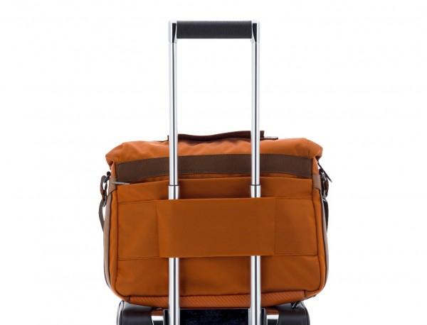 Messenger bag in arancia trolley