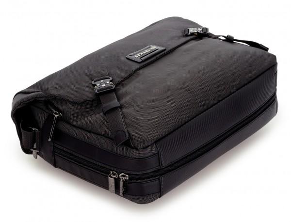 Messenger bag business in black anthracite base