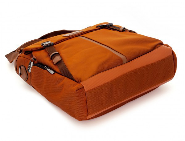 Bolso tote de mujer para ordenador portátil en color naranja base