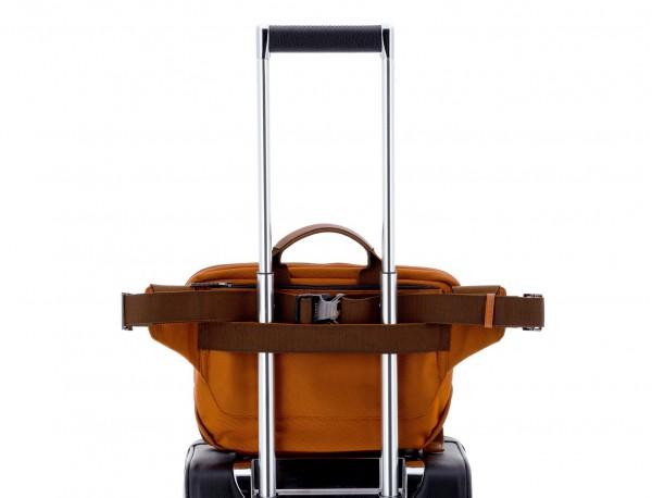 Large waist bag in black trolley
