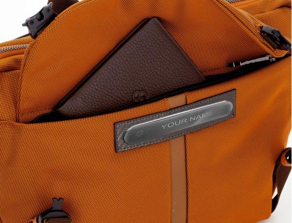 Riñonera grande de nylon en color antracita cartera