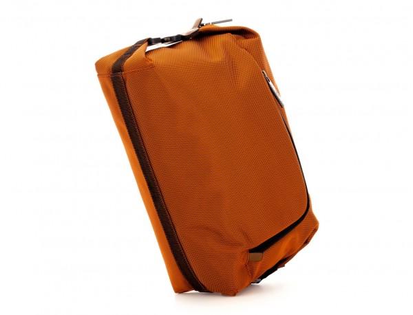 Toilet bag in orange side