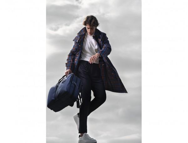 Travel bag backpack in orange lifestyle