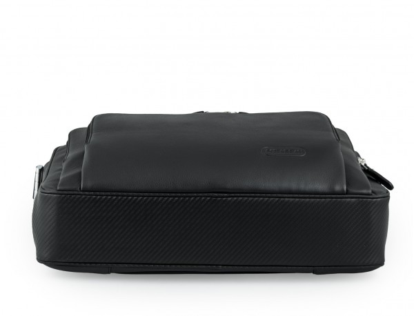 maletin ejecutivo de cuero en color todo negro base