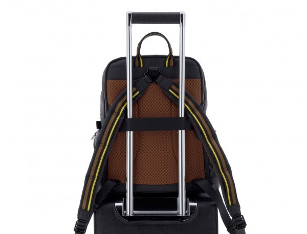 leather laptop backpack trolley