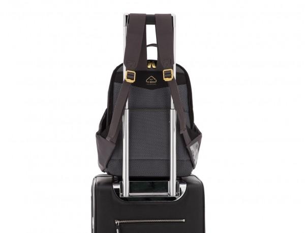 mochila de mujer negra trolley