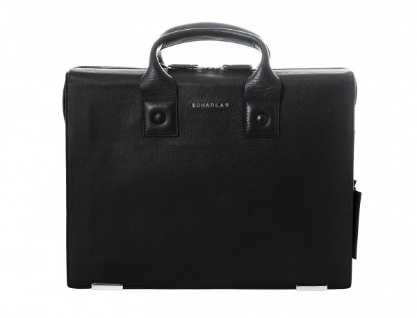 valigetta in pelle nera portada