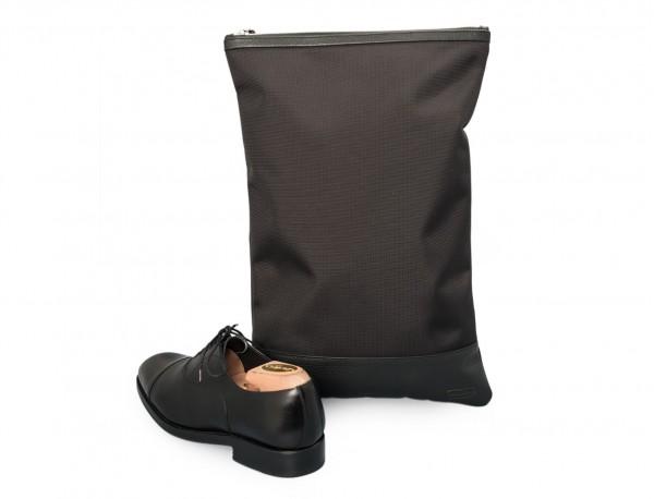 shoe pouch black back