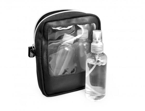 borsa da viaggio per liquidi in nylon balistico Cordura@ lateral