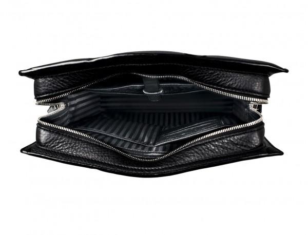 leather business bag woman black inside