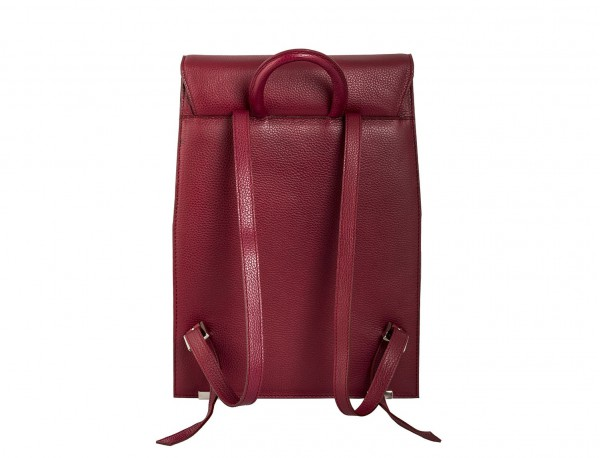 mochila berry de mujer trasera