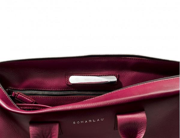 maletín de piel para mujer poortsdocumentos oficina