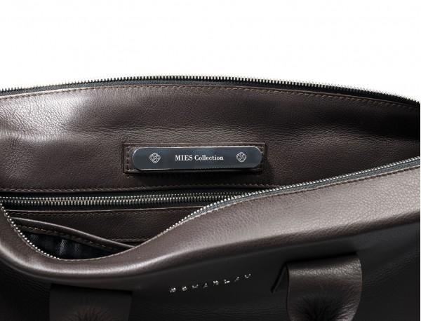maletín marrón portadocumentos de cuero