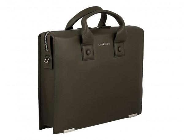 leather briefbag treen for men side