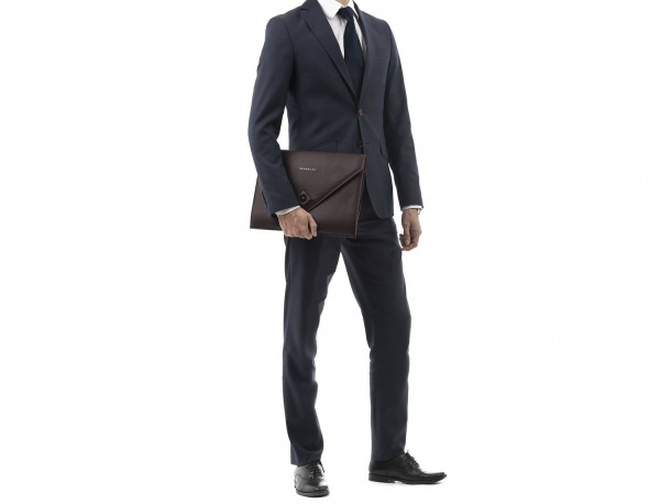 leather portfolio burgundy lifestyle