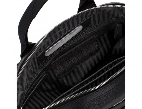 maletín de piel negro personalizado