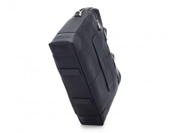 maletín de piel azul base