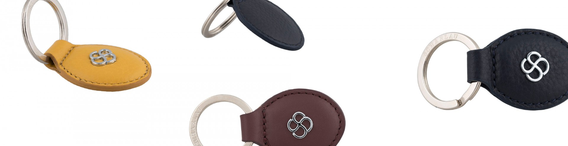 High Quality Leather Keyring