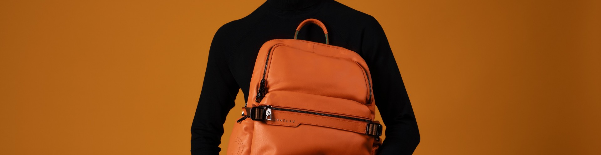 Men's Personalized Leather or Nylon Backpacks