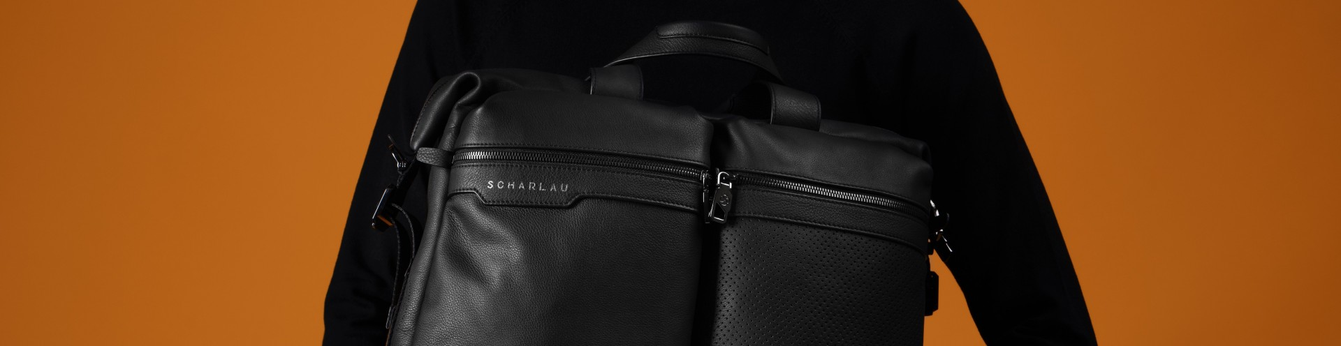Men's Leather or Nylon Personalized Briefbags