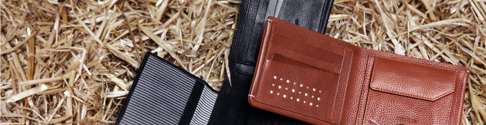 Portafogli e portecarte in Pelle di alta qualità da uomo