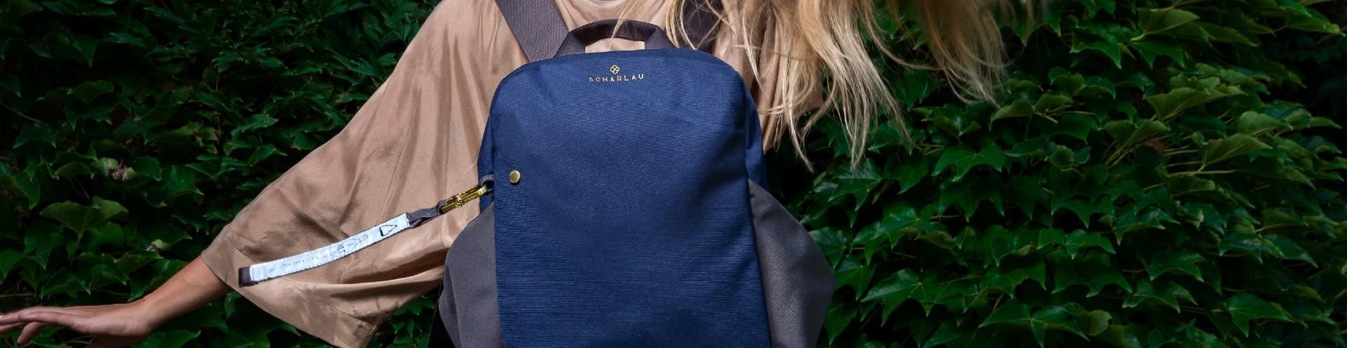Women Customizable Leather Backpacks