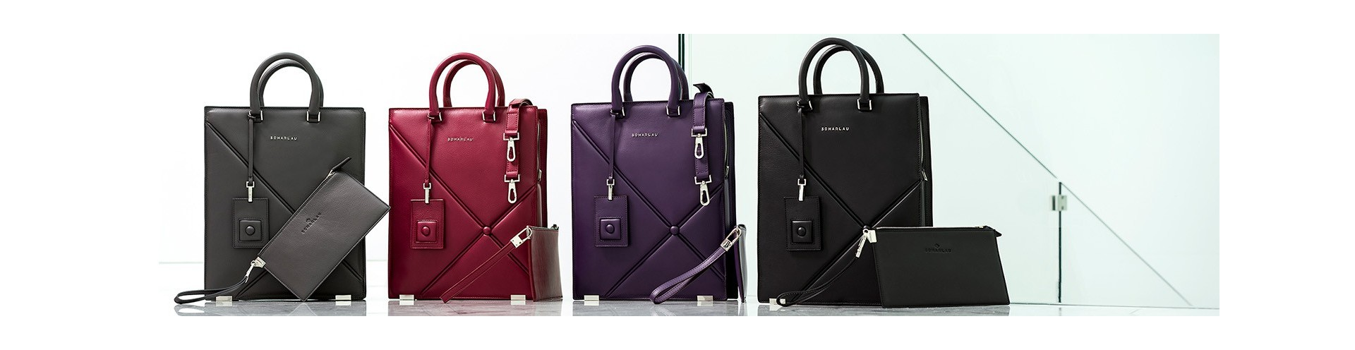 Leather Briefbags and Lapto Bags Made in Spain Mies Collection