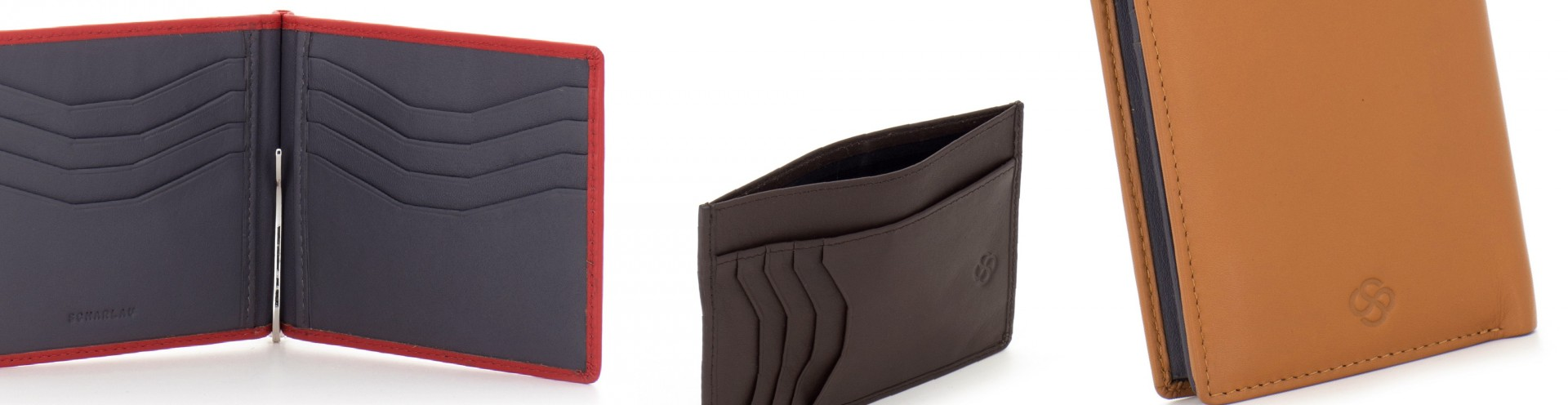 Functional Leather Wallet Contemporary Collection