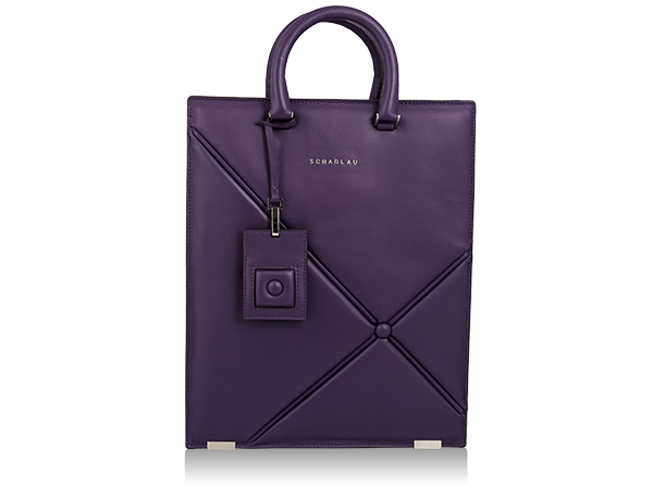 Borsa per laptop con shopping Mosler Viola