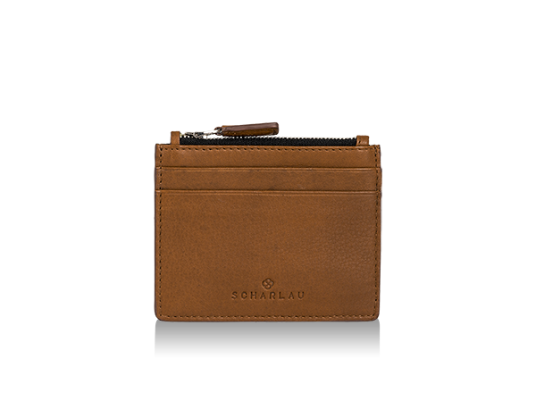 Perls Credit Card Holder Cognac