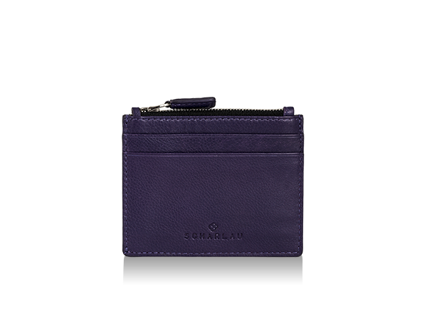 Perls Credit Card Holder Purple