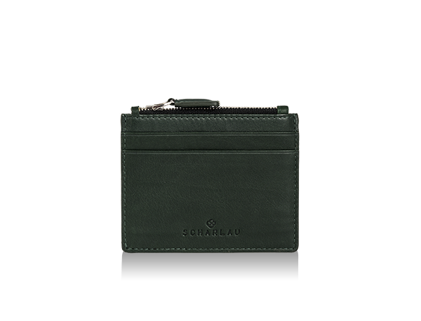 Perls Credit Card Holder Green